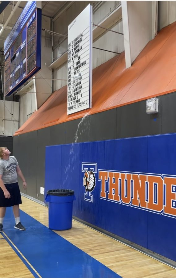 Water Damage in the Gym